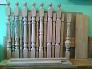 Балясины,  столбы,  поручни для лестниц.