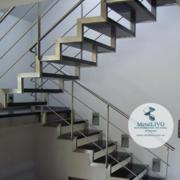 Лестница на 2 косоурах